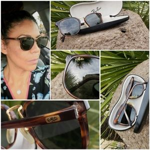 AUTHENTIC VINTAGE RAY BAN SUNGLASSES
